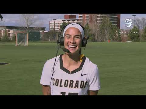Colorado women's lacrosse senior Miranda Stinston on win over Cal: 'We were connecting all over...