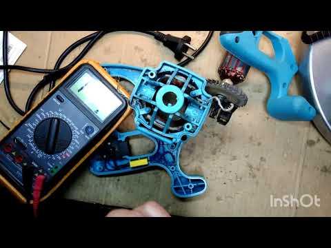 Искрят щетки на дисковой электропиле?