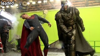 How did they do it? Batman v Superman