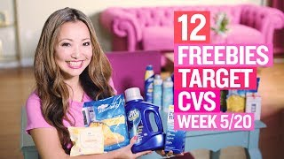 ★ 12 FREEBIES - Target & CVS Coupon DEALS (Week 5/20 – 5/26)