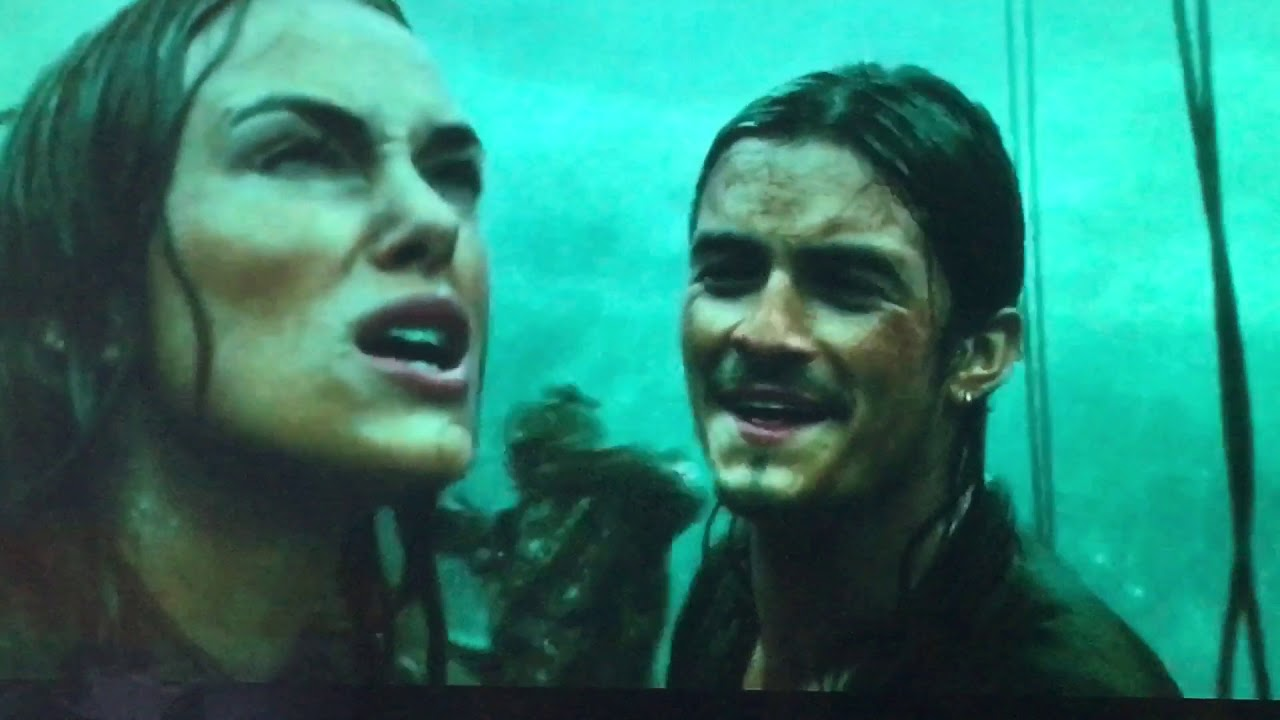 Pirates of the Caribbean 3 Will Turner and Elizabeth Swann ...