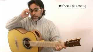 "Rumba ""unpredictable"" Flamenco Guitar + Tabs / Music composed by Ruben Diaz / Coaching 49"