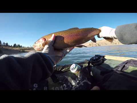 Heenan Lake Fly Fishing October 26th 2019