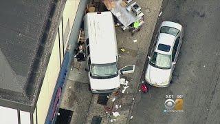 Van Injures Two In Astoria
