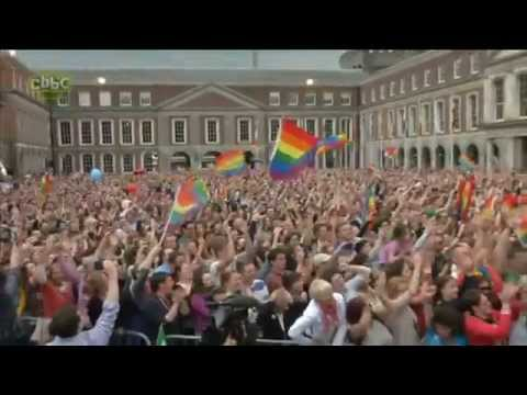 Newsround report about same-sex marriage referendum in Ireland