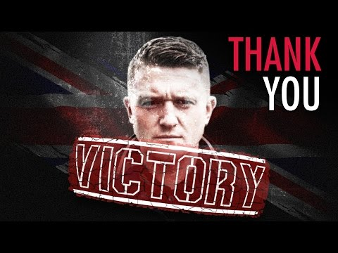 BREAKING: Tommy Robinson free!