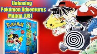 Unboxing: Pokémon Adventures Box (Manga)