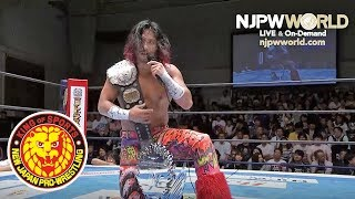 Mr. Belt & Mr. Trophy speak out, and Hiromu nominates Dragon Lee as his next challenger!!