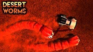 ОЧЕНЬ БЫСТРЫЕ ЗЛЫЕ ПУСТЫННЫЕ ЧЕРВИ МАШИНКИ desert worms #3 games cars ИГРА как мультик FOR