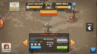 Clash of Clans -War Recap vs India Wale