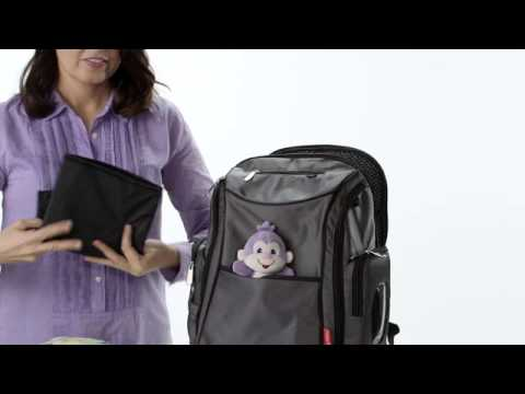 FISHER PRICE DELUXE SPORTY NAPPY BACKPACK
