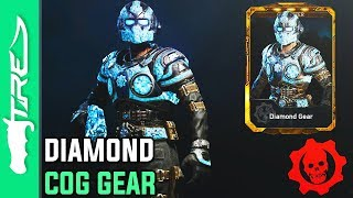 DIAMOND GEAR GAMEPLAY! - Gears of War 4 Multiplayer Character Gameplay (GOW4 DIAMOND GEAR)