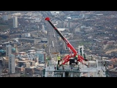 #Amazing amazing construction videos, Cool Machines - Mini Crane Equipment smart machinery new tech