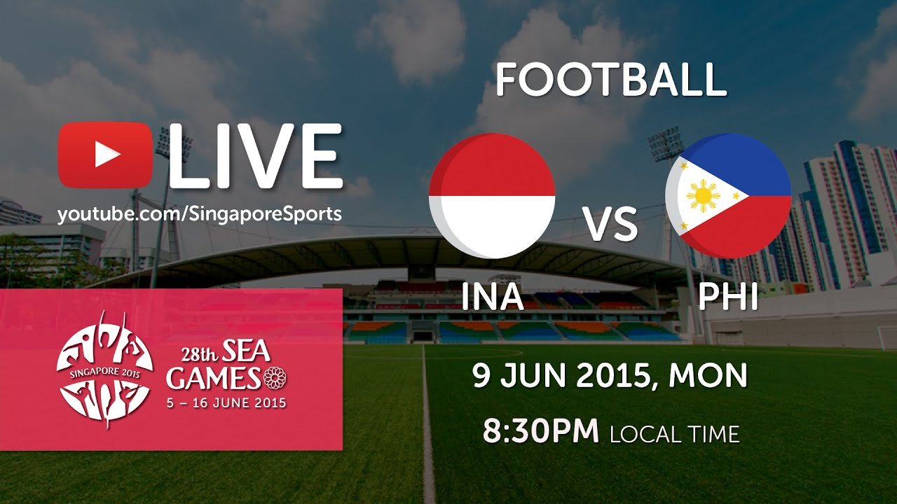 Football Indonesia Vs Philippines Jalan Besar Stadium Day  Th Sea Games Singapore