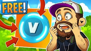 How to Get *FREE* V-Bucks (definitely clickbait) in Fortnite: Battle Royale