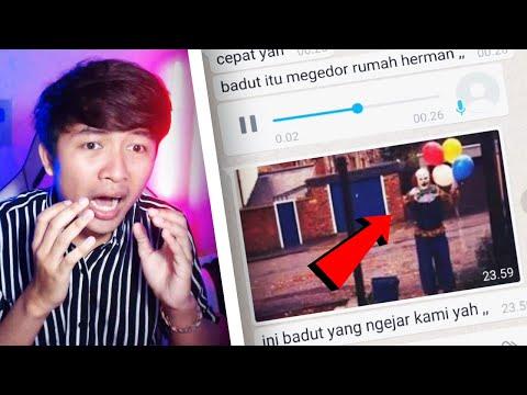 SEREM BANGET! BADUT PSIKOPAT 🤡🔪 | Chat History Horror Terseram