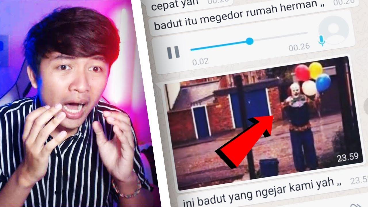 Download SEREM BANGET! BADUT PSIKOPAT 🤡🔪 | Chat History Horror Terseram