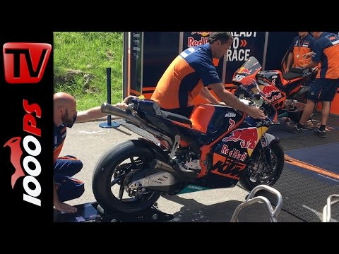 KTM RC16 LIVE Soundcheck - MotoGP Bike