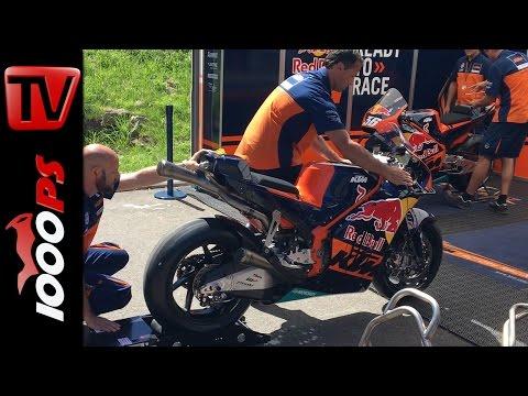 KTM RC16 LIVE Soundcheck - MotoGP Bike Foto
