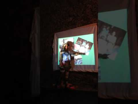 Karima Toiybou présentation à Os Figueiros de son expérience à Haïti - promo 1
