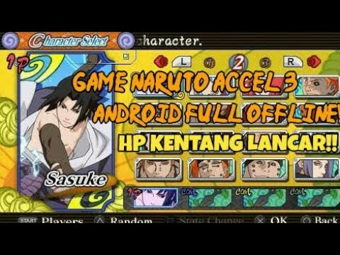 GAME NARUTO ANDROID OFFLINE!!!