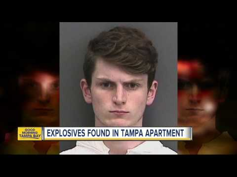 Explosives found in Tampa apartment