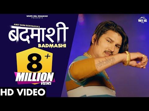 Amit Saini Rohtakiya New Song : BADMASHI (Full Song) | New Haryanvi Songs Haryanavi 2021