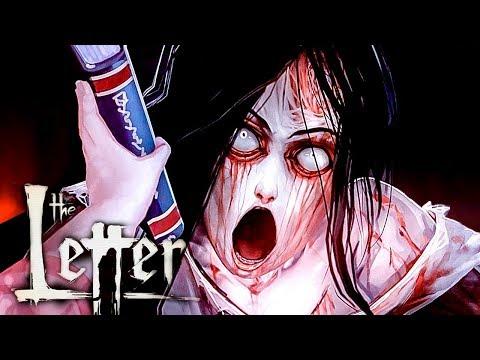 SMACK THAT HOE |  The Letter - Horror Visual Novel FULL Gameplay - Part 9