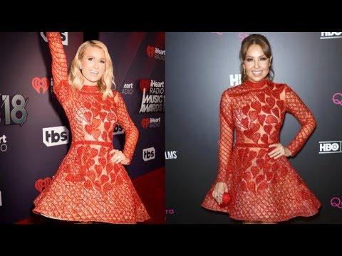 Paris Hilton Nuevamente Le Copia El Vestido A Thalía