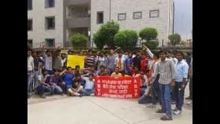 ABVP STRIKE AT MTU UPTU SECTOR 62, NOIDA