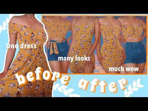 [VIDEO] - MAXI DRESS THRIFT FLIP//DIY TOPS, DRESSES, SKIRTS, TWO PIECES, AND MORE 3