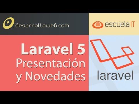 Presentaci�n de Laravel 5 y Novedades #laravelIO