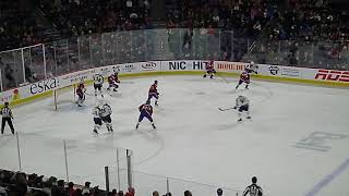 The final seconds of the Manitoba Moose vs. the Laval Rocket 2/23/19