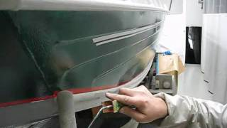 Наносим необрастайку Antifouling Trilux 33 International