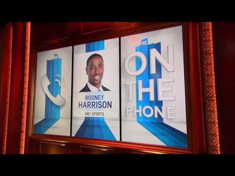 NBC NFL Analyst Rodney Harrison on The Joe Flacco-Ray Lewis Controversy - 11/21/16