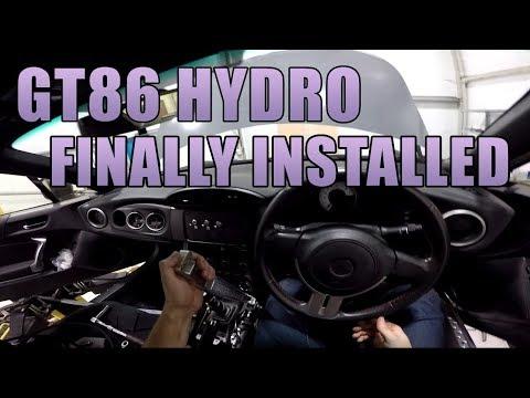 GT86 Hydraulic Handbrake Install (Dual Caliper)