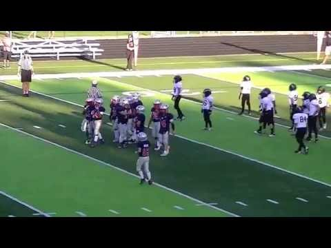 Clip #2 of 2 Birmingham Patriots vs Chesterfield Chargers JV 9-2-16