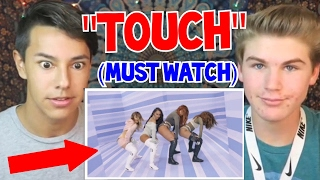 LITTLE MIX - TOUCH (Behind The Scenes) *REACTION