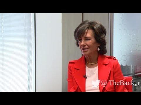 ​Interview with Santander's chairperson Ana Patricia Botín: working with fintechs
