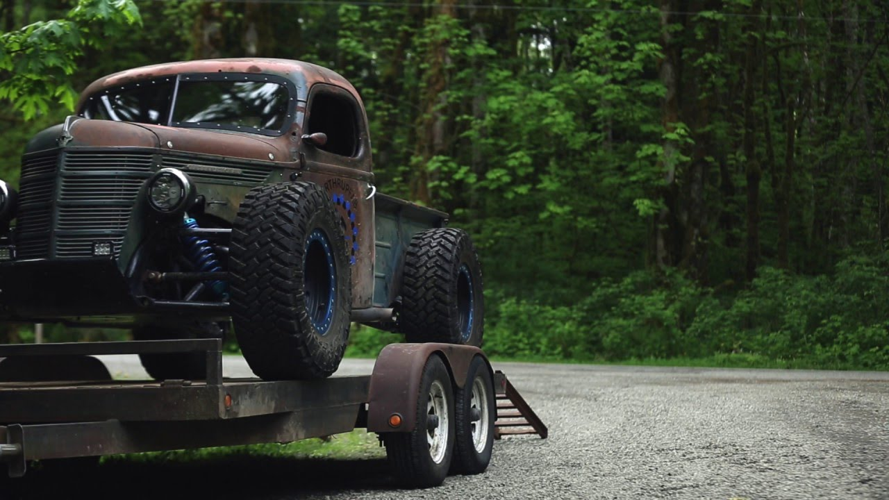 Truck Mud Tires >> Trophy Rat Teaser - YouTube