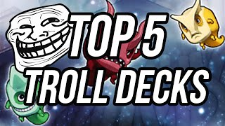 Top 5 Yu-Gi-Oh Troll Decks!