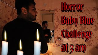 India's First Real Haunted Baby Blue Challenge Played By Exploring India| Playing Horror Game at 3am