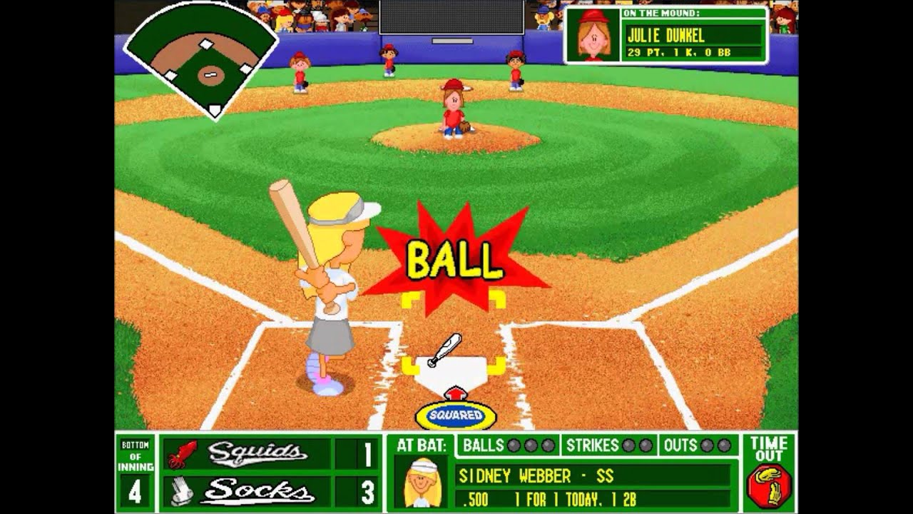 backyard baseball league pc tournament game 19 what a stinker