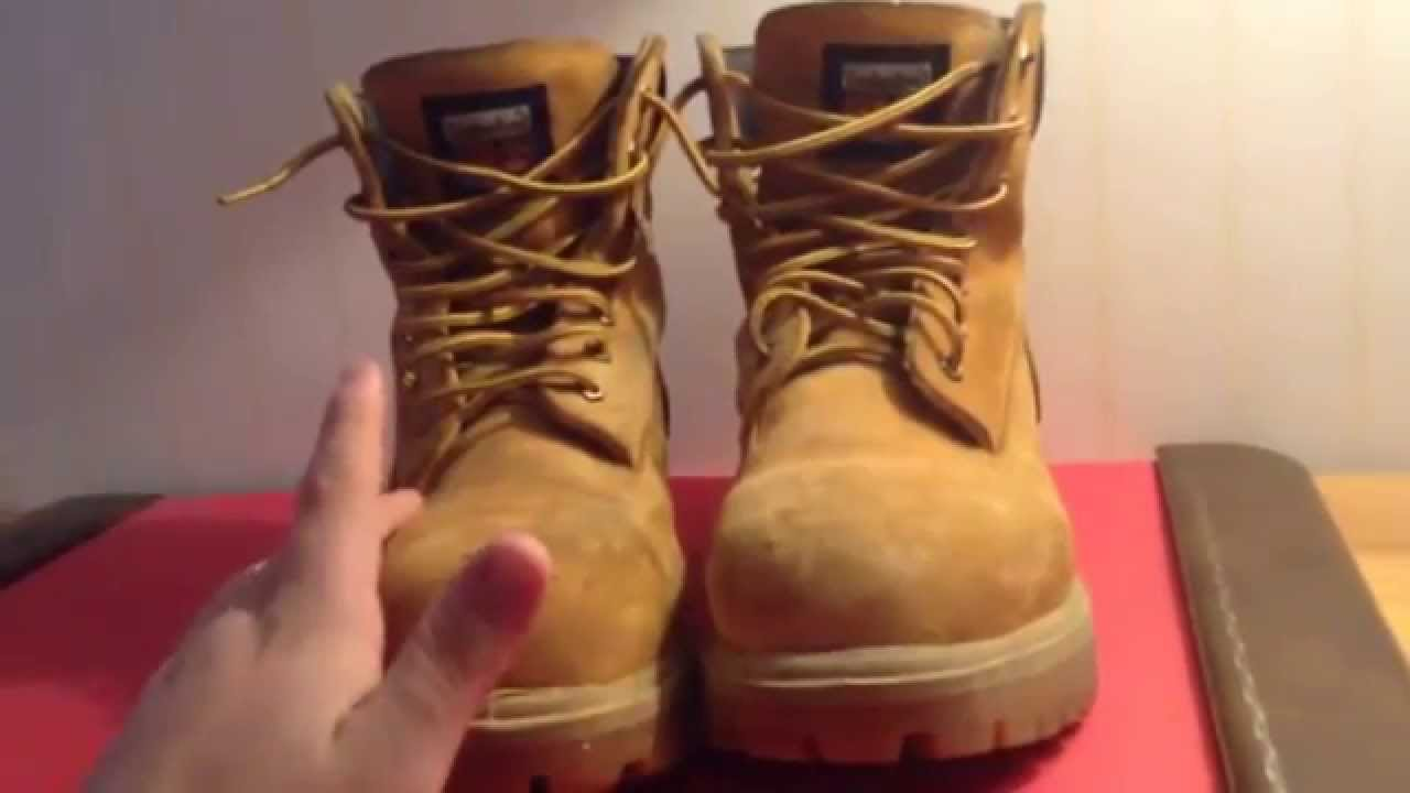 Timberland Pro Series Steel Toe Boots Review - YouTube Timberland Boots