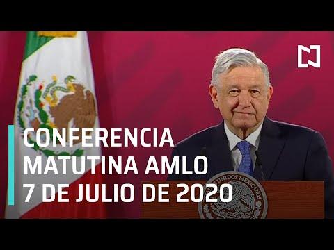 Conferencia matutina AMLO / 7 de julio de 2020