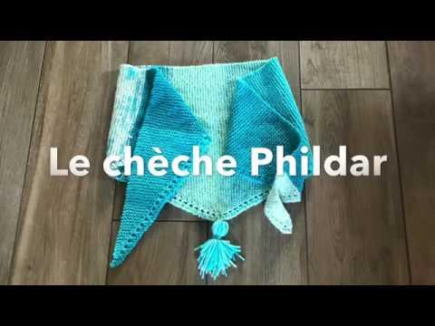 Download J'apprends à tricoter LE Chèche By Phildar FACILE en point mousse!