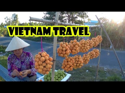 Vietnam Travel Saigon to Can Tho by motobike - Du Lich Mien Tay song nuoc