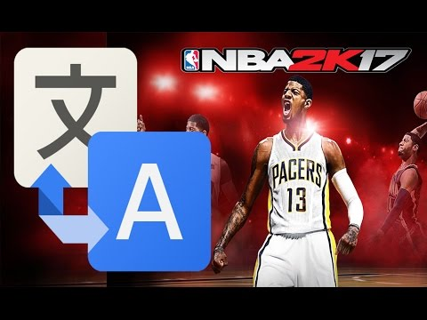 How to change the language in NBA 2K17 to any language