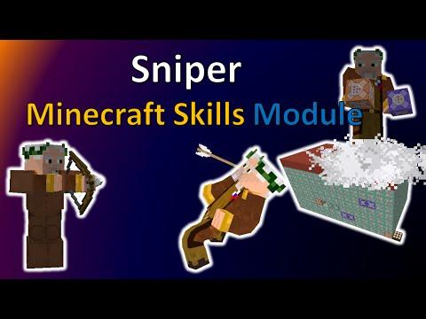 Sniper   Minecraft Skills Module