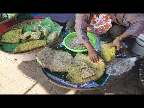Laos Market,Wild Laos Food Market 2017